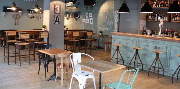 Comunidad decoraci n vintage para tu establecimiento for Mobiliario cafeteria